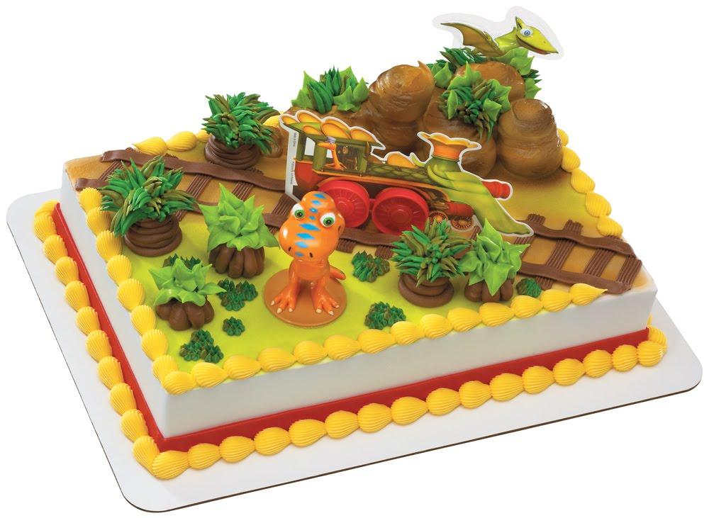 Dinosaur Train Cake Decorating Set