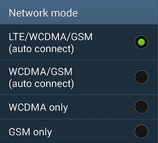 Globe LTE APN settings