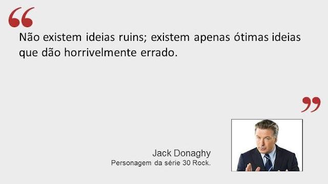 Frase de Jack Donaghy da séria 30 Rock