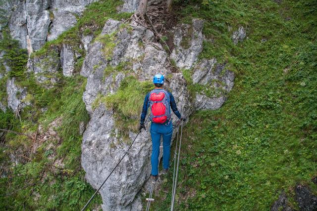 Silberkarklamm Rundweg Wilde Wasser und Klettersteige  Ramsau am Dachstein   Hias-Klettersteig  Siega-Klettersteig 04
