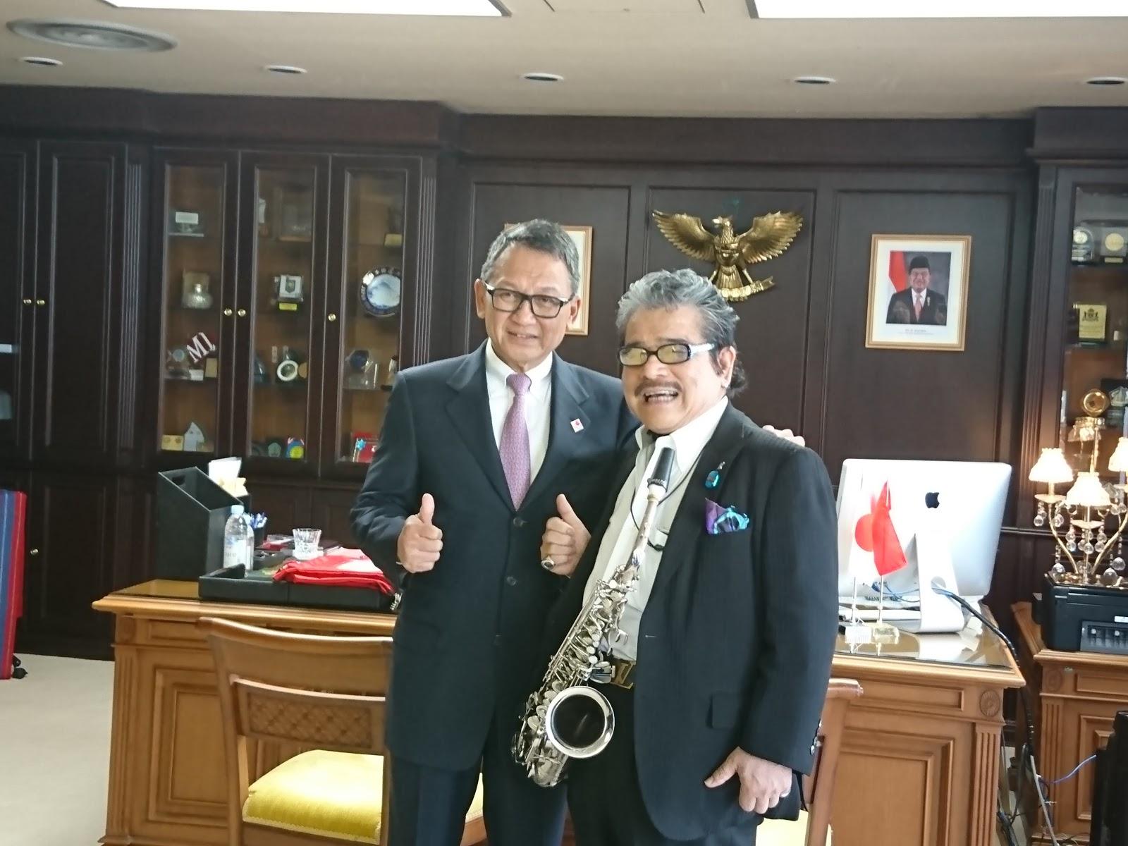 ぐろーかる日記: 著名なジャズサックス奏者MALTA氏をインドネシア大使 ...
