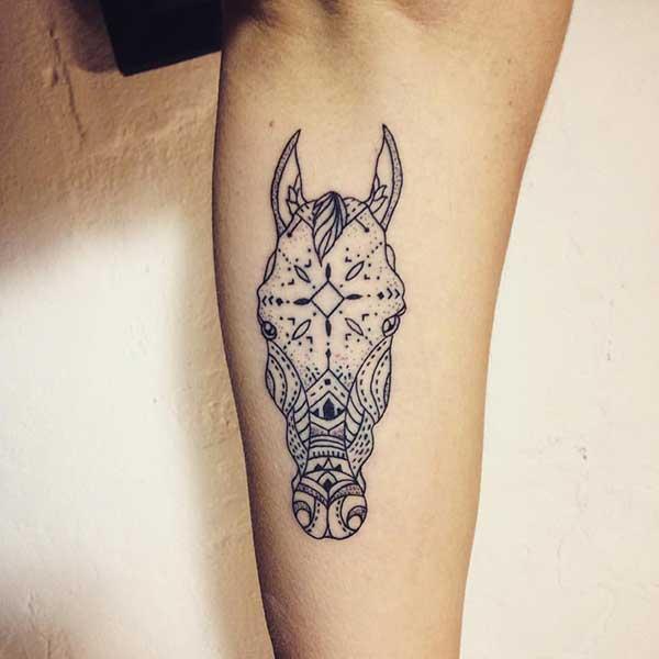 tatuagens de cavalos