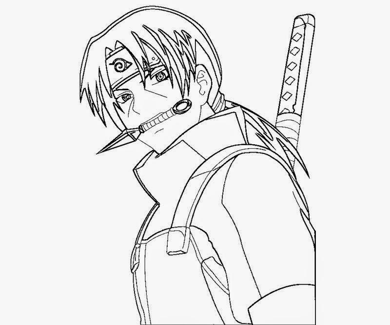 kokobrio: Itachi utchiha drawing books