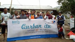 Solopeduli Salurkan Hewan Qurban Untuk Korban Gempa Lombok