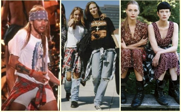 Moda De Subculturas Moda E Cultura Alternativa O Grunge