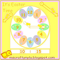 Easter-clock-craft