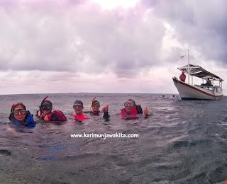 snorkeling rame rame di karimun
