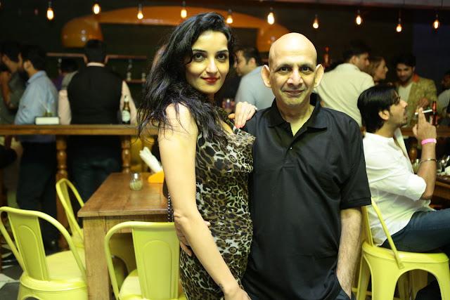 (L-R) Tanya Kapoor, Yasheel Jain