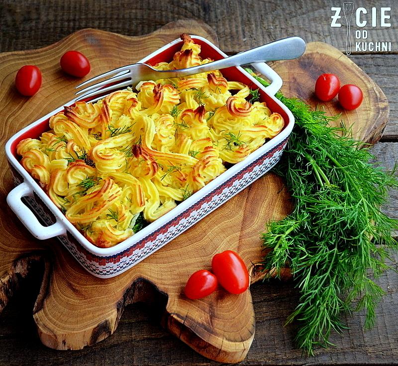 poltino, mrożonki poltino, zapiekanka warzywna, zapiekanka ziemniaczana, sos serowy, warzywa w serowym sosie, zycie od kuchni
