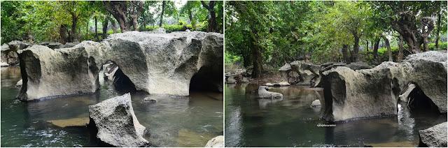 Sungai eksotis yang membelah Taman Prasejarah Leang  Leang  | © JelajahSuwanto