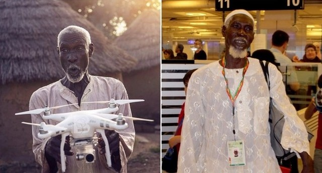 """Kisah Mengharukan """"Haji Drone"""" dari Ghana Afrika"""