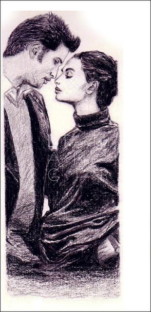 Ronan C illustration dessin crayon graphite & pierre noire - Atelier LT 37 cours arts appliqués Tours dierre luzillé chédigny montrichard