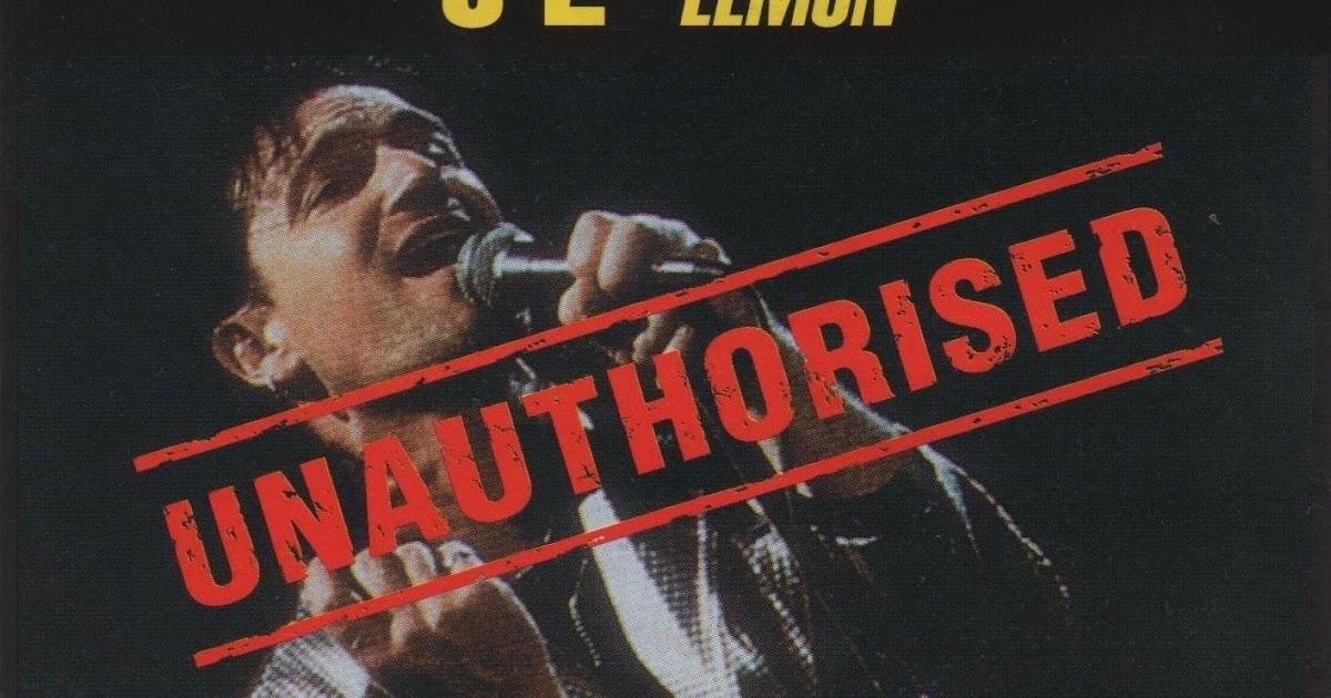 Rock On Vinyl U2 Lemon Unauthorised Live 1993 Bootleg