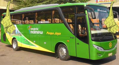 Harga Tiket Lebaran 2016 Bus Puspa Jaya