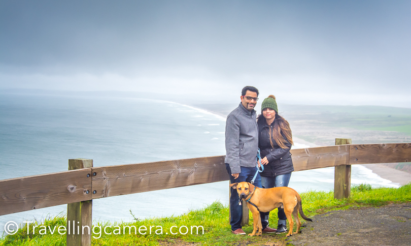 Arun, Shivani and Woz around Point Reyes Lighthouse in California. These guys make my California visit very special and this time it much more fun as I had another day to spend with them at their home in Fremont.