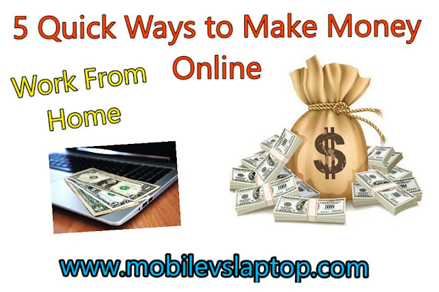 5 Quick Ways to Make Money Online in India (No Investment, Work From Home)