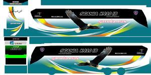 Livery Garuda Mas K410iB WSP