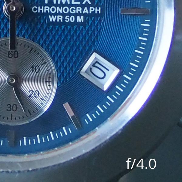 Meike 25mm f/0.95 при f/4