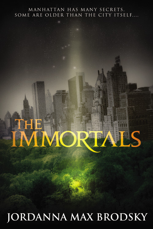 2016 Debut Author Challenge Update - The Immortals by Jordanna Max Brodsky