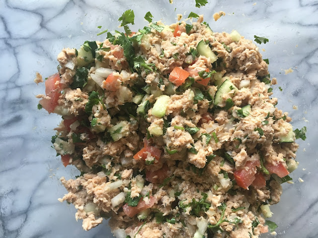 IMG 2319 - Simple Salmon Ceviche Tostadas