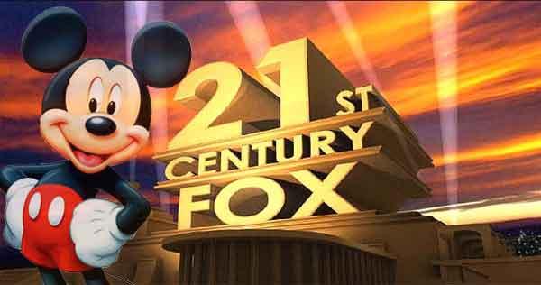 Fox acepta oferta de Disney por 71,300 USD
