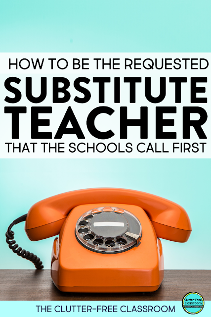 I wish I had known some of these substitute teacher tips a long time about. This blog post talks about how subs can handle classroom management and become the most requested substitute teacher. After reading the post I am going to start keeping certain items in my bag so I am always ready to go. Other substitute teachers will love some of their outfit ideas too! #substituteteacher #subplans #teachertips
