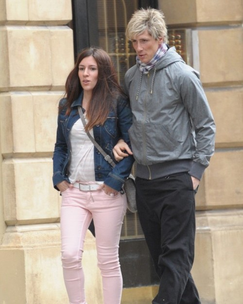 Fernando torres and wife delightful