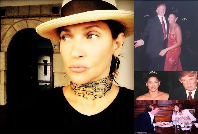 """Ex novia dominicana de Trump: """"lo amé porque fue una persona especial,  pero no votaré por él"""""""