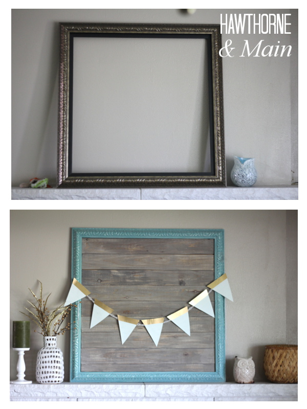 DIY Barn Wood Picture Frame - Page 2 of 2 - Princess Pinky Girl