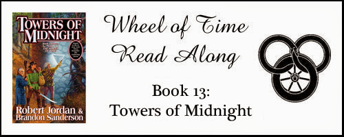 Towers of Midnight by Robert Jordan: Week 8