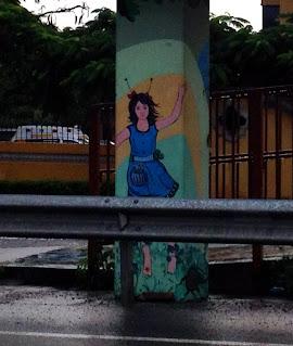 graffiti in Costa Rica