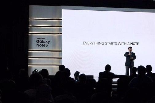 Samsung Galaxy Note 5 Mendukung Produktivitas Menulis