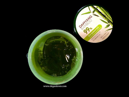 Elegant Eves: The Face Shop Damyang Bamboo Fresh Soothing Gel Review