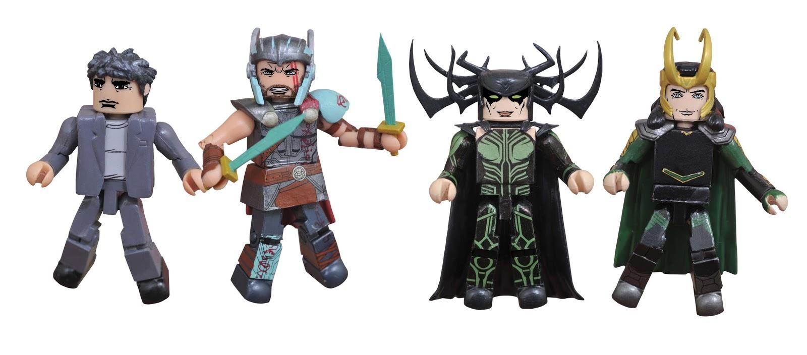 Thor: Ragnarok Marvel Minimates Box Set By Diamond Select Toys
