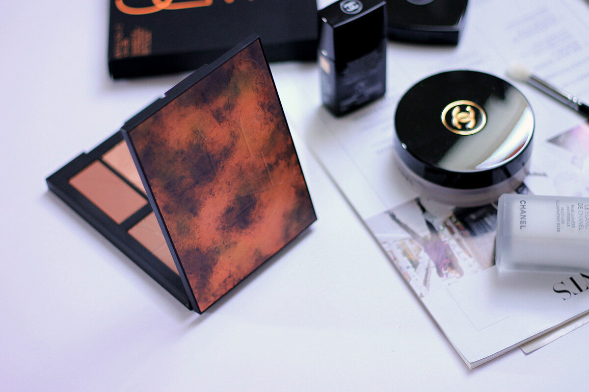 nars bord de plage highlighting & bronzing palette review