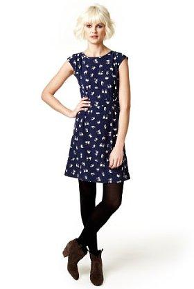 da5609502a10c Domestic Sluttery  Dream Dress  Marks and Spencer Pug Print Dress