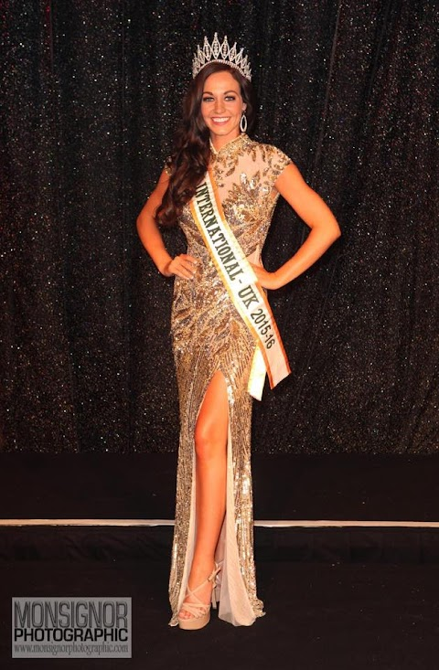 Miss International UK 2015 - 2016