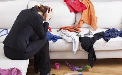 El desorden puede transformar en desagradable cualquier espacio.