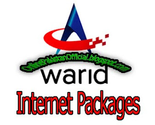 Warid Daily, Weekly, Monthly net packages 2G/3G