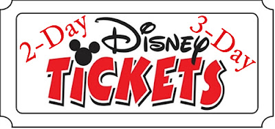 Discount 2 Day Disney World Tickets