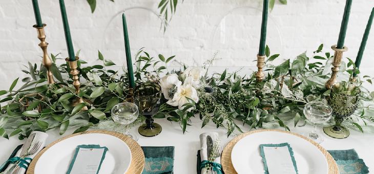 Emerald Green Inspired Bridal Inspo