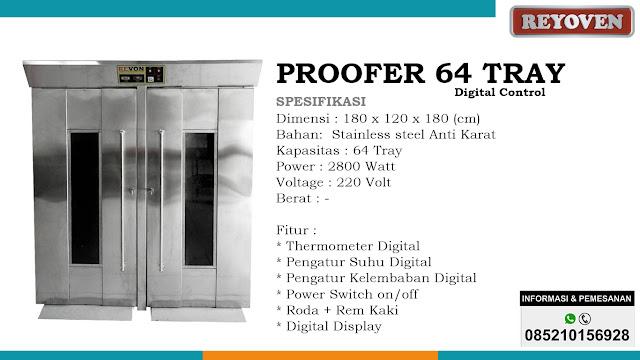 Proofer 64 Tray Digital Control