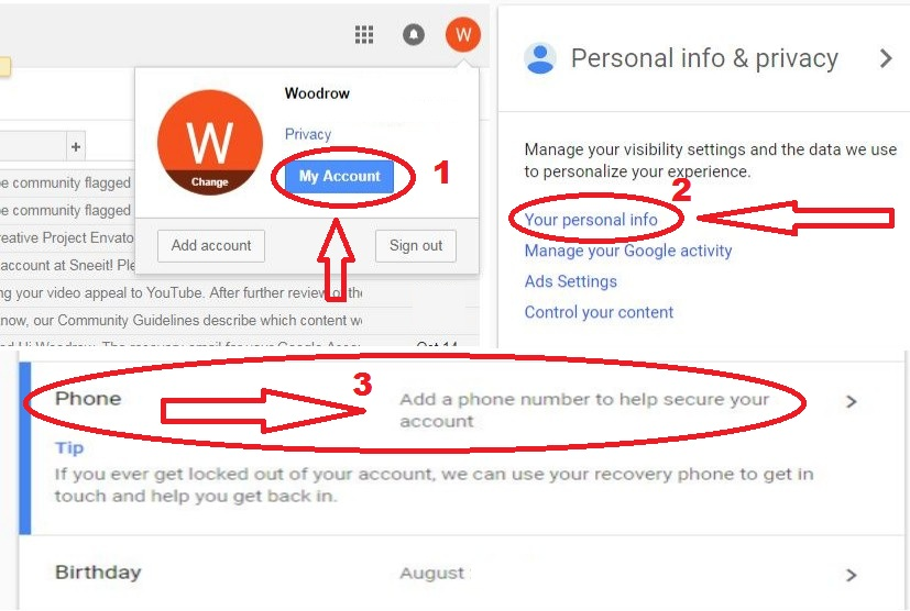 Create Gmail Account Without Mobile Verification