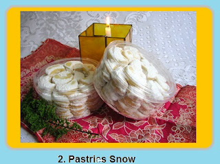 Pastries Snow