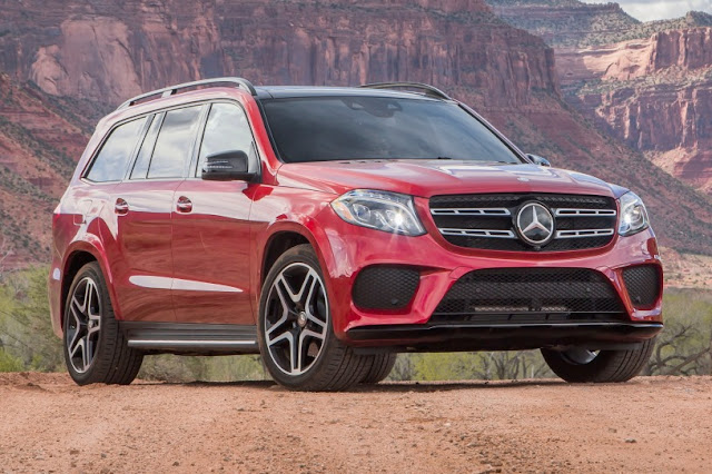 New 2016 Mercedes GLS 400 4MATIC front look SUV HD