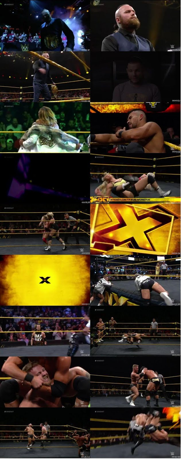 WWE NXT 27th June 2018 200MB HDTV 480p x264 1