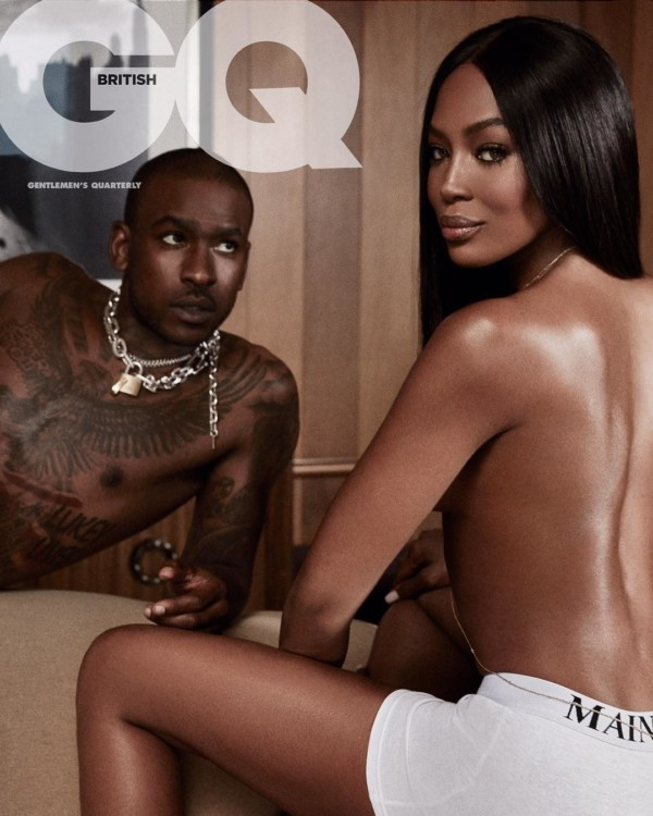 Skepta & Naomi Campbell are on the cover of GQ