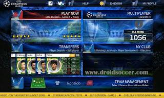 Download DLS 17 Mod UEFA Champions League Full Money