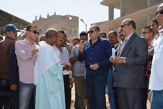 مفاجأة محافظ سوهاج اثناء زيارته بالسماكيين والجزيره المستجده بمركز المنشاه