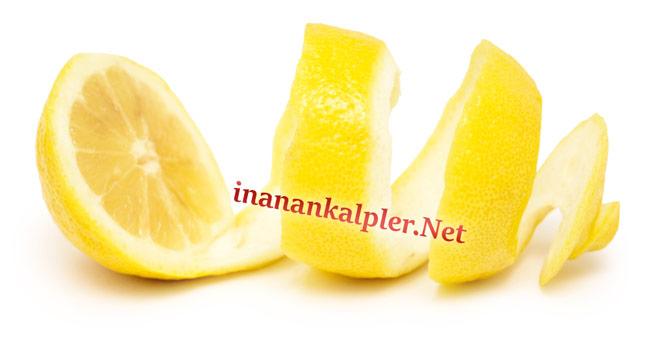 Limon kabuğu ile eklem ağrısı tedavisi